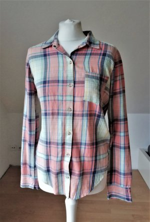 Abercrombie & Fitch Checked Blouse green-pink