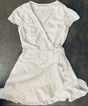 Abercrombie & Fitch Mini Dress white cotton