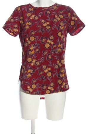 Abercrombie & Fitch Bluzka z krótkim rękawem czerwony-jasny pomarańczowy