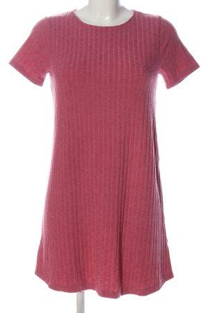 Abercrombie & Fitch Jurk met korte mouwen roze casual uitstraling
