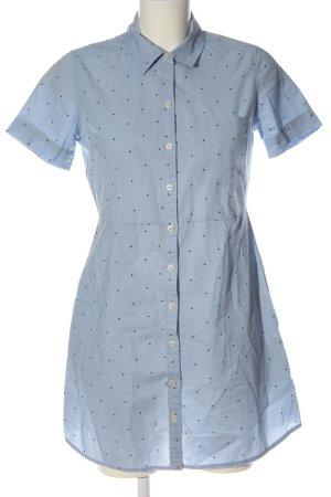 Abercrombie & Fitch Shortsleeve Dress blue spot pattern casual look