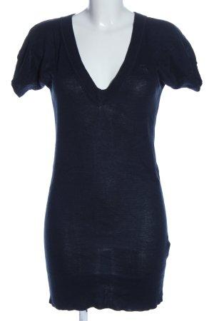 Abercrombie & Fitch Kurzarmpullover blau Casual-Look