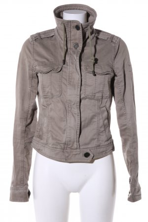 Abercrombie & Fitch Kort jack bruin casual uitstraling