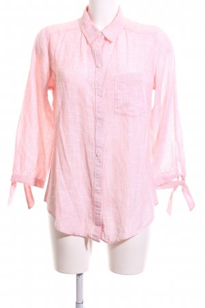 Abercrombie & Fitch Langarm-Bluse pink meliert Casual-Look