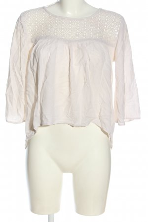 Abercrombie & Fitch Blouse met lange mouwen wolwit casual uitstraling