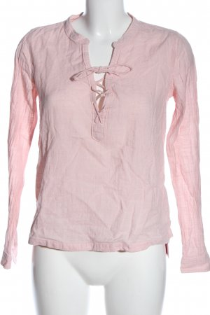 Abercrombie & Fitch Langarm-Bluse pink Casual-Look