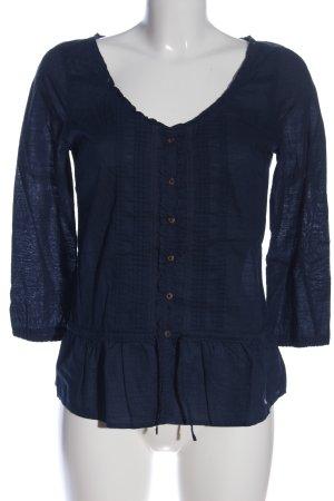 Abercrombie & Fitch Blusa de manga larga azul look casual