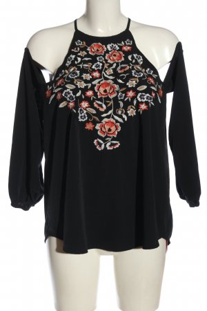 Abercrombie & Fitch Langarm-Bluse mehrfarbig Casual-Look