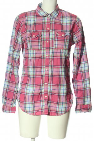 Abercrombie & Fitch Langarmhemd Allover-Druck Casual-Look