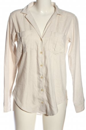 Abercrombie & Fitch Langarmhemd creme Casual-Look