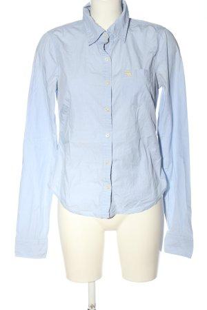 Abercrombie & Fitch Chemise à manches longues bleu style décontracté