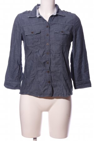 Abercrombie & Fitch Langarmhemd lila Casual-Look