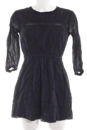 Abercrombie & Fitch Langarmkleid schwarz Casual-Look