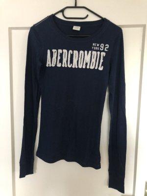 Abercrombie & Fitch Camicia lunga blu scuro