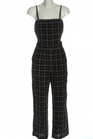 Abercrombie & Fitch Langer Jumpsuit geruite print casual uitstraling