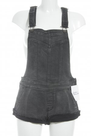 Abercrombie & Fitch Jeans met bovenstuk antraciet Jeans-look