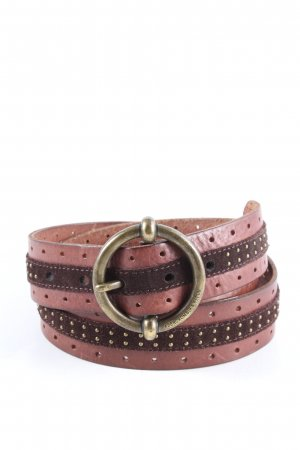 Abercrombie & Fitch Leather Belt multicolored casual look