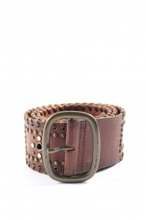 Abercrombie & Fitch Leather Belt brown casual look
