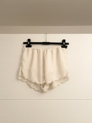 Abercrombie & Fitch Hot pants wit-licht beige