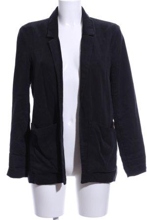 Abercrombie & Fitch Long-Blazer schwarz Business-Look