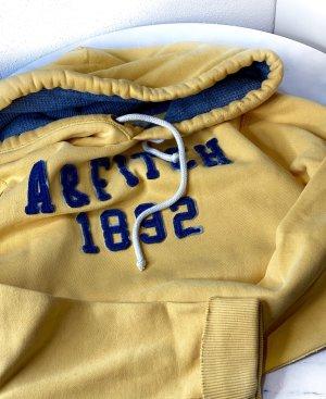 Abercrombie & Fitch Männer Hoodie Pullover Gelb