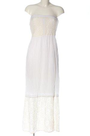 Abercrombie & Fitch Maxikleid weiß Elegant