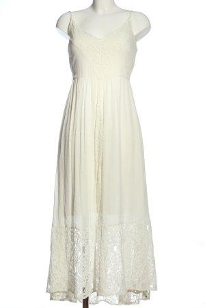 Abercrombie & Fitch Spitzenkleid weiß Elegant