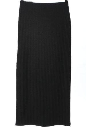 Abercrombie & Fitch Falda midi negro estilo «business»