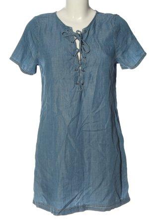 Abercrombie & Fitch Minikleid blau Casual-Look