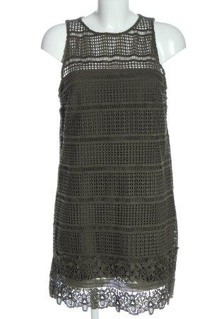 Abercrombie & Fitch Mini vestido caqui look casual