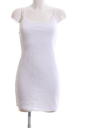 Abercrombie & Fitch Mini Dress white mixture fibre