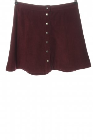 Abercrombie & Fitch Miniskirt red casual look