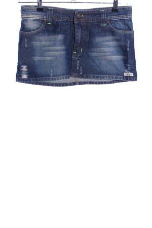 Abercrombie & Fitch Minirock blau Casual-Look
