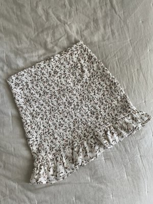 Abercrombie & Fitch Miniskirt white