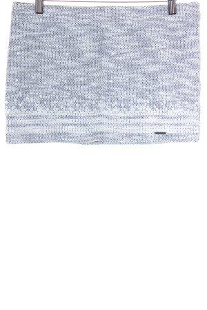 Abercrombie & Fitch Minirock weiß-dunkelblau meliert Street-Fashion-Look