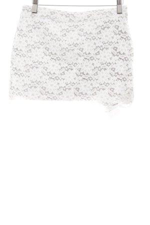 Abercrombie & Fitch Minirock weiß-hellgrau Casual-Look