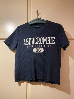 Abercrombie & Fitch Short Sleeve Sweater multicolored cotton