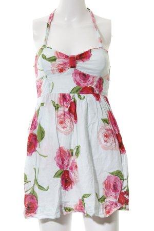 Abercrombie & Fitch Neckholderkleid Blumenmuster Casual-Look