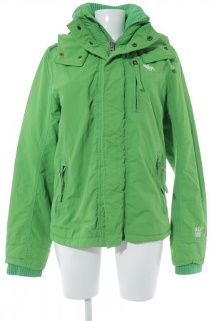 Abercrombie & Fitch Outdoor Jacket meadow green college style