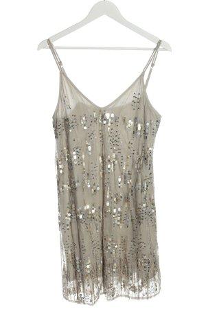 Abercrombie & Fitch Sequin Dress light grey elegant