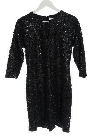 Abercrombie & Fitch Sequin Dress black elegant