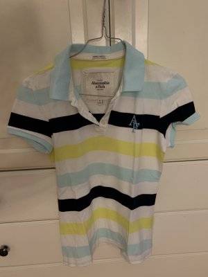 Abercrombie & Fitch Camiseta tipo polo multicolor