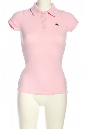 Abercrombie & Fitch Polo-Shirt pink Casual-Look