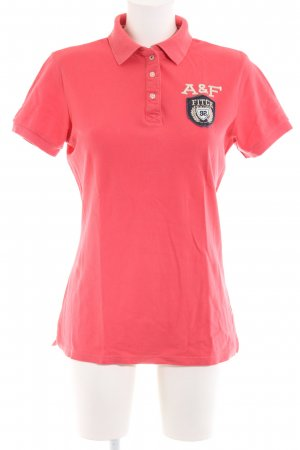 Abercrombie & Fitch Polo-Shirt rot Casual-Look