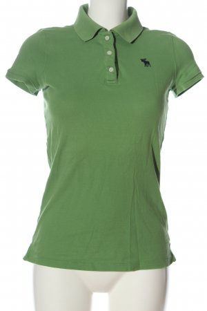 Abercrombie & Fitch Polo-Shirt grün Casual-Look