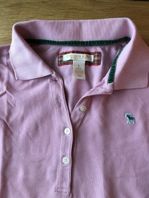 Abercrombie & Fitch Poloshirt, Polo, rosé/rosa