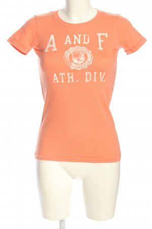 Abercrombie & Fitch Print-Shirt nude Motivdruck Casual-Look