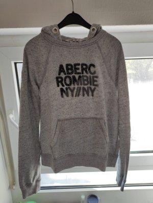 Abercrombie & Fitch Fleece trui lichtgrijs-grijs