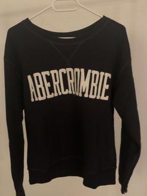 Abercrombie & Fitch Kraagloze sweater donkerblauw