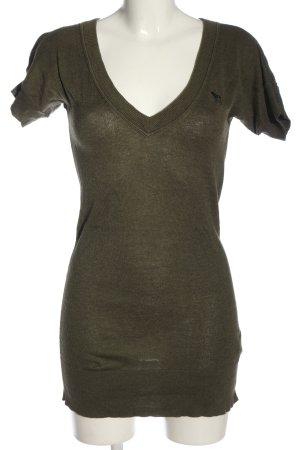 Abercrombie & Fitch Pulloverkleid khaki Casual-Look